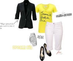 """Dream It, Wish it, Do it, Make it Happen"" by fashionista-222-jlm on Polyvore"