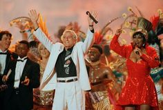 Tony Bennett and Patti LaBelle - Super Bowl XXIX (1995). Theme: Indiana Jones and the Temple of the Forbidden Eye