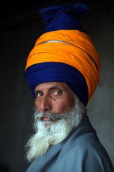 A (Nihang) Singh (Sikh), India