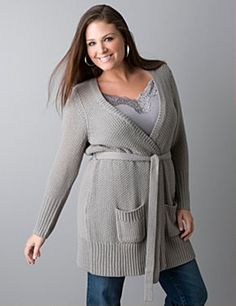 BELTED CARDIGAN: love your curves - don't hide them!