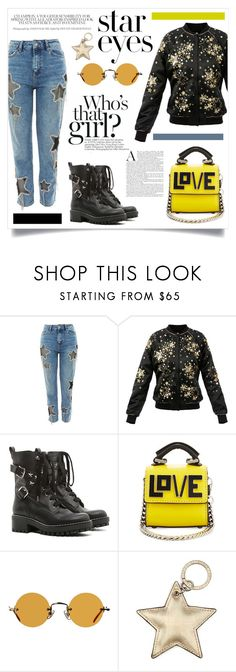 """Love for the stars"" by anchilly23 on Polyvore featuring RED Valentino, Les Petits Joueurs, Hakusan and Aspinal of London"