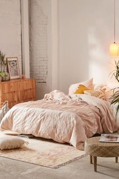 Monica Eyelet Duvet Cover at Urban Outfitters