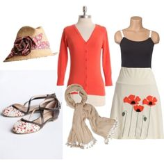 Breastfeeding Style- poppy, created by aswornell on Polyvore