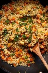 Quinoa Fried Rice - Dinner Eatery