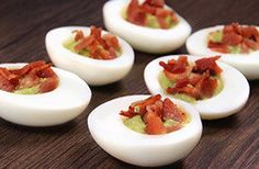Healthy Hungry Girl Low-Sugar Recipes: Bacon-Avocado Egg Bites