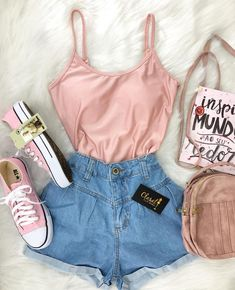 High fashion half short ankle boots in 2019 trendy outfits у Cute Summer Outfits, Cute Casual Outfits, Stylish Outfits, Spring Outfits, Stylish Dresses, Teen Fashion Outfits, Outfits For Teens, Fashion Clothes, Girl Outfits