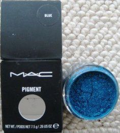 MAC Pigment in Blue