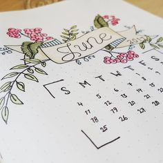 Preparing for June in my bullet Journal! #bulletjournal #planningahead #doodles #bujoinspiration #bulletjournallove #junebulletjournal #june #keepitsimple #creative #planning #bujo #bujomonthly #monthlyspread