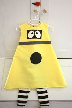 @Stephanie Malsom Easton Layla could be  minions for halloween!