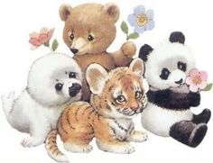 Baby animals drawings life 31 ideas for 2019 Baby Animal Drawings, Animal Sketches, Cute Drawings, Cute Cartoon Animals, Cute Baby Animals, Art Mignon, Cute Animal Illustration, Dibujos Cute, Cute Clipart