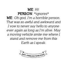 Introvert problems ✓
