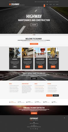 'Zighway Highway' #webdesign for #Bootstrap http://zign.nl/49300