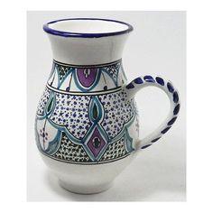 Le Souk Ceramique Malika Large Pitcher