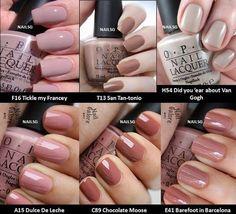 Qoo10 - [NAILSG] ♥ OPI Nail Polish ♥ Popular Nude Red Pink Purple Colours! ♥ F... : Bath /Body/ Nail...