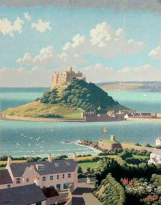 St Michael's Mount, Cornwall, England, UK