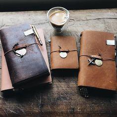 Beautiful Traveler's Notebooks