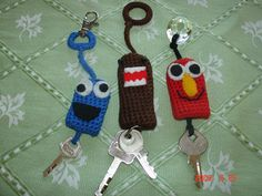 Character Key Cozy - CROCHET
