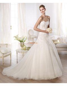 Applikation Dragkedja Naturlig Bröllopsklänningar 2014