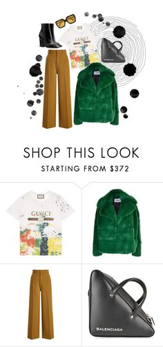 """""""Untitled #153"""" by angel534 on Polyvore featuring Gucci, MSGM, Joseph and Balenciaga"""