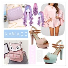 """Kawaii Pastel Loves Candy and Twinkledeals"" by beanpod ❤ liked on Polyvore"