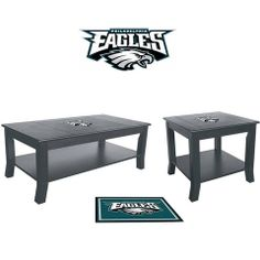 Use this Exclusive coupon code: PINFIVE to receive an additional 5% off the Philadelphia Eagles Table Set at SportsFansPlus.com