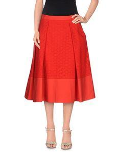 SALVATORE FERRAGAMO 3/4 Length Skirt. #salvatoreferragamo #cloth #skirt