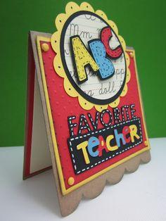 Love you a latte cricut cartridge ideas Handmade Teachers Day Cards, Greeting Cards For Teachers, Teachers Day Greetings, Handmade Cards, Teacher Appreciation Cards, Teacher Cards, Teacher Gifts, School Scrapbook, Scrapbook Cards