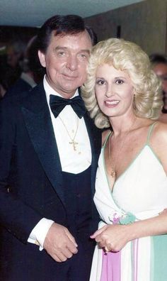 Tammy Wynette and Ray Price