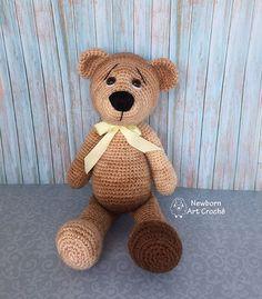 Urso mesclado (Amigurumi)