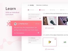MindX - course stages & lessons by Jaroslaw Ceborksi @jaarson  - Follow us  @uitrends for daily UI UX inspiration   #course #education #learning #platform #ux #userexperience #product #digital #gradient #html #experience #layout #composition #designers #concept #creative #css #web #awwwards #tech #blockchain #ether #bitcoin #technology #www #mytechlife #dev #devtools #inspiration #developer