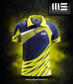MSSPORTSWEAR Sport Shirt Design, Sports Jersey Design, New Shirt Design, Sport T Shirt, Shirt Designs, Badminton T Shirts, Soccer Shirts, Cricket Logo Design, Cricket Outfits