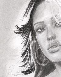 Stars Portraits - Hair drawing tutorial tutorial