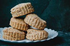 vanilla bean and espresso spelt scones | london bakes