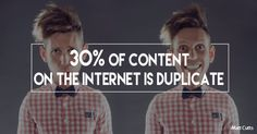 30% of the internet is duplicate content and some of that is from webmasters plagiarizing content without consent. Learn how to identify stolen content and take action today.