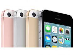"""iPhone SE Apple 64GB Dourado 4G Tela 4"""" Retina - Câm. 12MP iOS 9 Proc. Chip A9…"""
