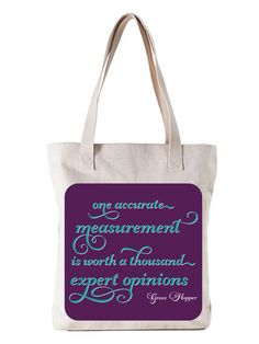 My favourite quote now on a tote.