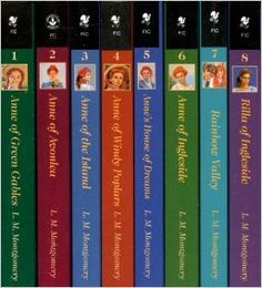 The Complete Anne of Green Gables Boxed Set ... Kiki received these for Christmas this year.