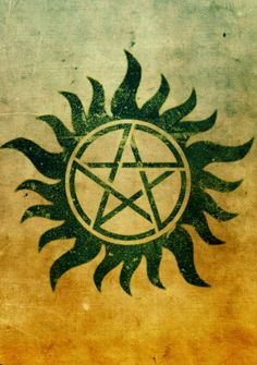 Supernatural Protection Tattoo Aside from the pentagrams, I really do like this tattoo.