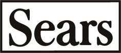 Sears logo 1960's-1970's