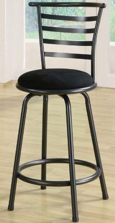 """Set of 2 24""""H Counter Height Stools Microfiber Seat Gunmetal Gray Finish by Coaster Home Furnishings. $84.25. Dining and Kitchen. 24""""H. Dining and Kitchen->Seating->Counter Height Seating. Some assembly may be required. Please see product details.. Dimension: 22""""W x 20.5""""D x 38""""H Seat Depth: 14 1/2"""" Finish: Gunmetal Gray, Black Material: Gunmetal, Microfiber Set of 2 24""""H Counter Height Stools Microfiber Seat Gunmetal Gray Finish These lovely gunmetal gray stools offer a..."""