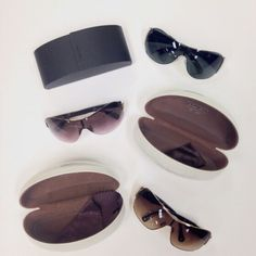 P R A D A  Silver Sunglasses -- $50, C O A C H  Hazel Sunglasses -- $40, C O A C H  Gold Sunglasses -- $40   #and #theresmore #prada #coach #sunglasses #shades #pradasunglasses #coachsunglasses #muchneeded #incolorado #cmparkmeadows #clothesmentor #hotitemsdaily #upscaleresale #shopclothesmentor #denver #lonetree #parkmeadows #colorado