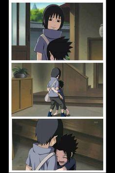 I so very much love young Sasuke and Itachi. <3