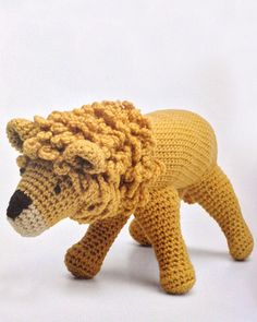 Maggie's Crochet - Crocheted Wild Animals