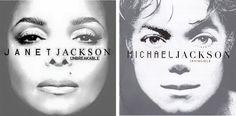 "Janet Jackson ""Unbreakable"" & Michael Jackson ""Invincible"""