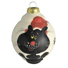 Kitten  Christmas ornament  Cats Gray  Orange  Pinterest
