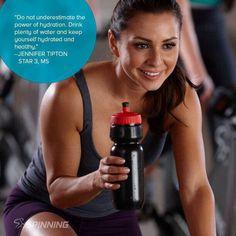 Spinning® hydration key !