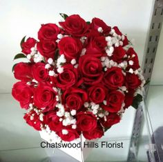 Wedding Posy by Chatswood Hills Florist at Springwood.