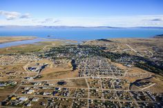 Aerial view of El Calafate cityscape, Patagonia, Argentina by Gable Denims on 500px