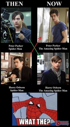 The Amazing Spider-Man 2- major look alike!!