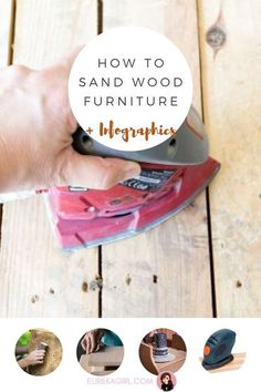 Do you need to sand your furniture? What exactly does sanding do? Can you paint furniture without sanding? This guide will answer all of your questions! #sandfurniture #woodfurniture #furnituretutorials #DIYfurniture #paintfurniture Sanding Furniture, Sanding Wood, Paint Furniture, Refinished Furniture, Diy Projects Using Wood, Diy Home Decor Projects, Woodworking Projects Diy, Recycled Furniture, Handmade Furniture